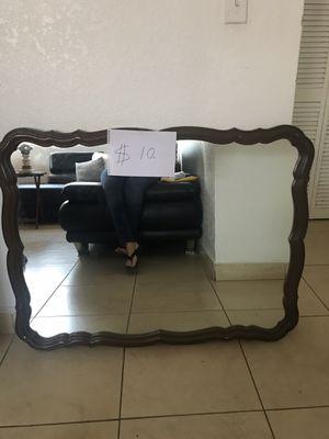 Antique style mirror (40 X 31) for Sale in Miami, FL