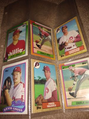Phillies and Dodgers baseball cards for Sale in Fresno, CA