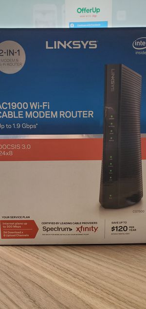 Linksys Xfinity Wi-Fi Modem/Router for Sale in Denver, CO
