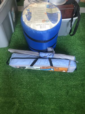 Junior dome pop up tent and sleeping bag for Sale in Raleigh, NC