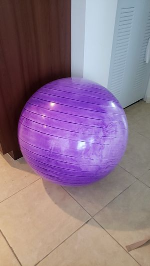 Swiss, exercise, yoga or birth ball 75cm for Sale in West Palm Beach, FL