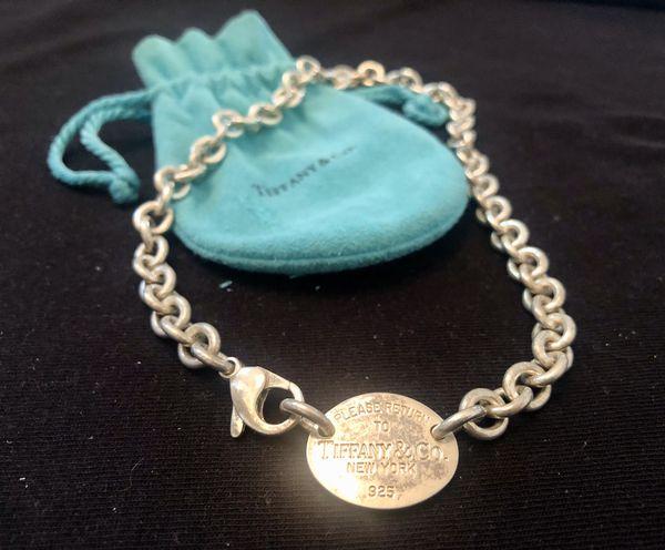 Tiffany & Co Return to Tiffany Tag Choker Necklace