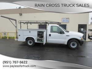 2002 Ford F-250 utility service body pickup truck for Sale in Norco, CA