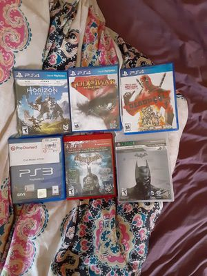 PS4 and ps3 games for Sale in North Royalton, OH