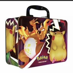 Pokemon TCG Fall 2020 Collectors Chest Tin Lunchbox Charizard Pikachu Sealed for Sale in Santa Rosa, CA