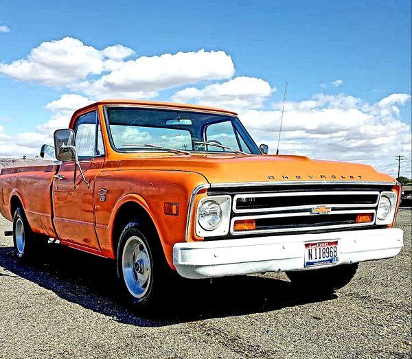 1968 rust free c20