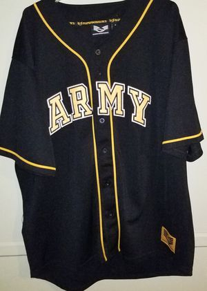 Army Baseball Jersey Pre-Owned Size XL for Sale in Rosedale, MD