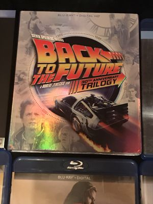 Back to the Future Trilogy Blu-ray for Sale in Gardena, CA