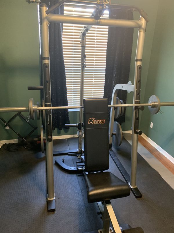 Bench and cable rack
