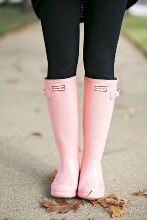 Hunter rain boots bubble gum tall boots for Sale in South Jordan, UT