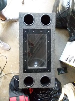 """2- 12"""" Sub Woofers with Box for Sale in Whittier, CA"""