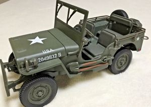 Gate Willy's Jeep Scale 1:18 Gate U.S.A 20491132 S for Sale in Winter Springs, FL