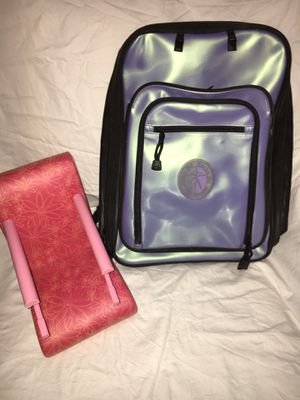 American Girl Doll Treat Seat and AG Backpack for Girl for Sale in Hillsboro, OR