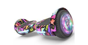 """Flash Wheel Hoverboard 6.5"""" Bluetooth Speaker with LED Light Self Balancing Wheel Electric Scooter - Dinosaur for Sale in Tamarac, FL"""