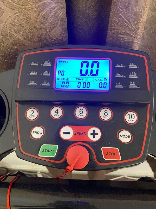 Treadmill almost NEW
