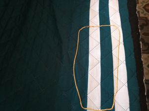 30 inch gold plated rope chain for Sale in Philadelphia, PA