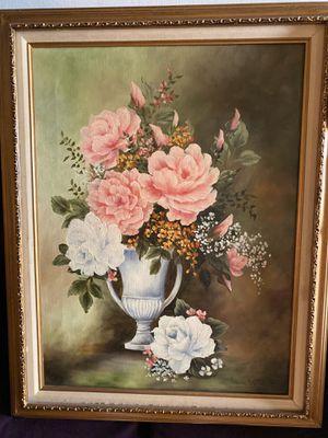 Flower portrait and bird portrait for Sale in La Habra Heights, CA