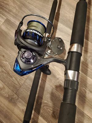Fishing rods and reels for Sale in Montclair, VA