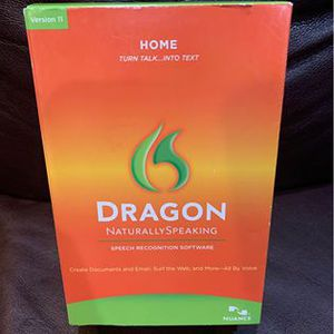 Dragon naturally speaking version 11 for Sale in Oregon City, OR