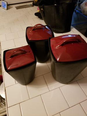 3 piece canister for Sale in Orlando, FL