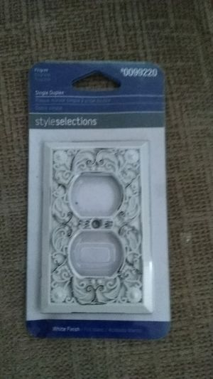Set of 2 style selections 0099220 decorative wall plate covers for Sale in Huntsville, AL
