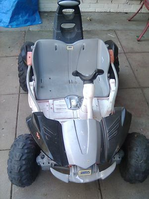 Free power wheels. No battery included. Free. As is. Near airport for Sale in Fresno, CA