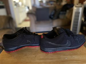 Nike sb x Levi's dunk low for Sale in Vernon, CA