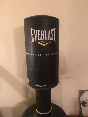 Everlast Standing Heavy Bag for Sale in Alexandria, VA