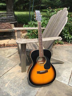 Vintage sunburst acoustic guitar for Sale in Silver Spring, MD