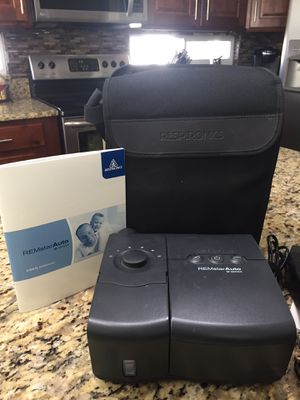 CPAP Machine from REMstar Auto M Series with heated humidifier for Sale in Layton, UT