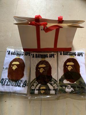 BAPE T SHIRTS for Sale in Tacoma, WA
