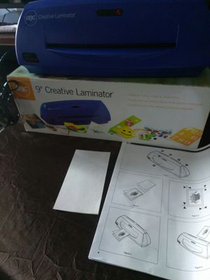 "9"" creative laminator for Sale in Los Angeles, CA"