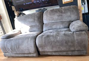 Couch Recliner Electric Leather for Sale in Colorado Springs, CO
