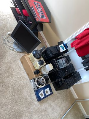 LOT OF Various Computer Parts, CPU, Cases, Keyboards, Modems, Monitors etc. for Sale in Alpine, CA