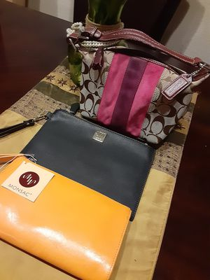 Small Coach Purse and Wristlet Wallets for Sale in Sugar Land, TX