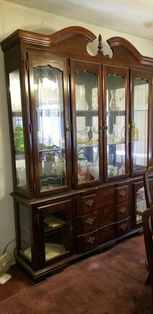 Large Mahogany Hutch for Sale in Pasadena, CA