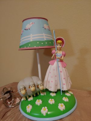 Toy Story Bo Peep Lamp for Sale in Richmond, TX