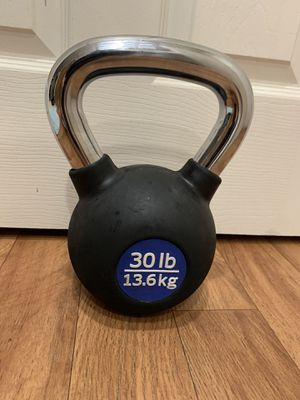 30lb kettlebell great condition $35 price is firm for Sale in Bellevue, WA
