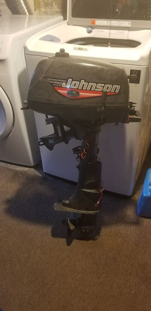 Johnson outboard motor like new low price! for Sale in Queens, NY
