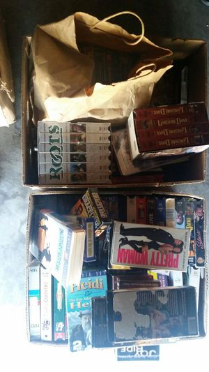 Vhs movies for Sale in Modesto, CA
