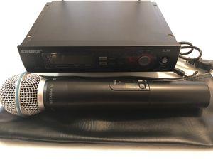 Shure SLX Beta58 J3 Wireless Mic System for Sale in Harrisonburg, VA
