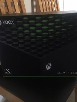 Xbox Series X Brand New Sealed for Sale in Houston,  TX