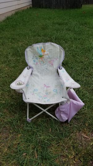 Tinkerbell. Child folding chair. OBO for Sale in Round Rock, TX