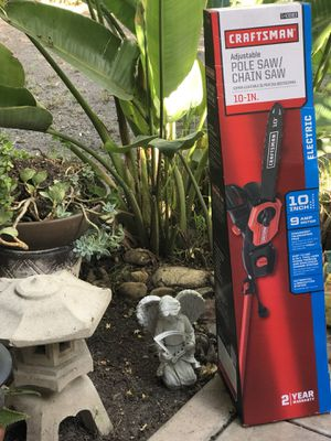 Craftsman Adjustable Chain saw for Sale in San Diego, CA