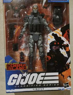 GI Joe Classified Series Special Missions Cobra Island Firefly Target 🎯 IN HAND for Sale in Chicago,  IL