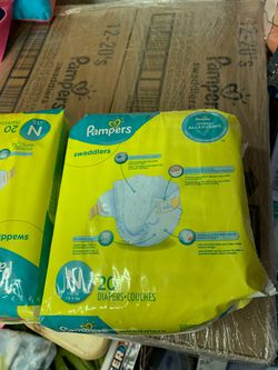 Pampers newborn swaddlers for Sale in Brick Township,  NJ