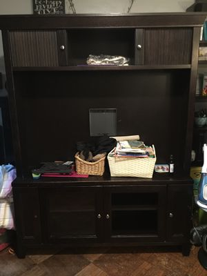 TV Stand with Hutch for Sale in Brooklyn, NY