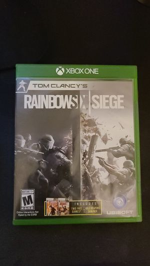 Rainbow six siege for Sale in Elgin, IL
