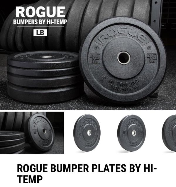 Rogue Fitness Hi-Temp Bumper Plates