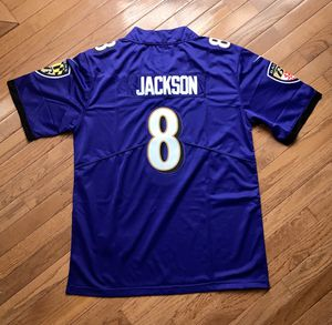 SALE NEW Baltimore Ravens Purple and black jerseys Jackson for Sale in Chantilly, VA